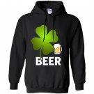 Beer lucky leaf happy st patricks day Hoodie