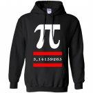 Funny math pi Hoodie