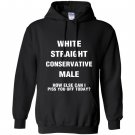 Straight conservative male republican Hoodie