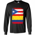 Colombian puerto rican flag vintage colombia rico Long Sleeve