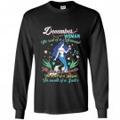 December the soul of a mermaid glitter Long Sleeve