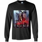 Funny president trump patriotic eagle party Long Sleeve