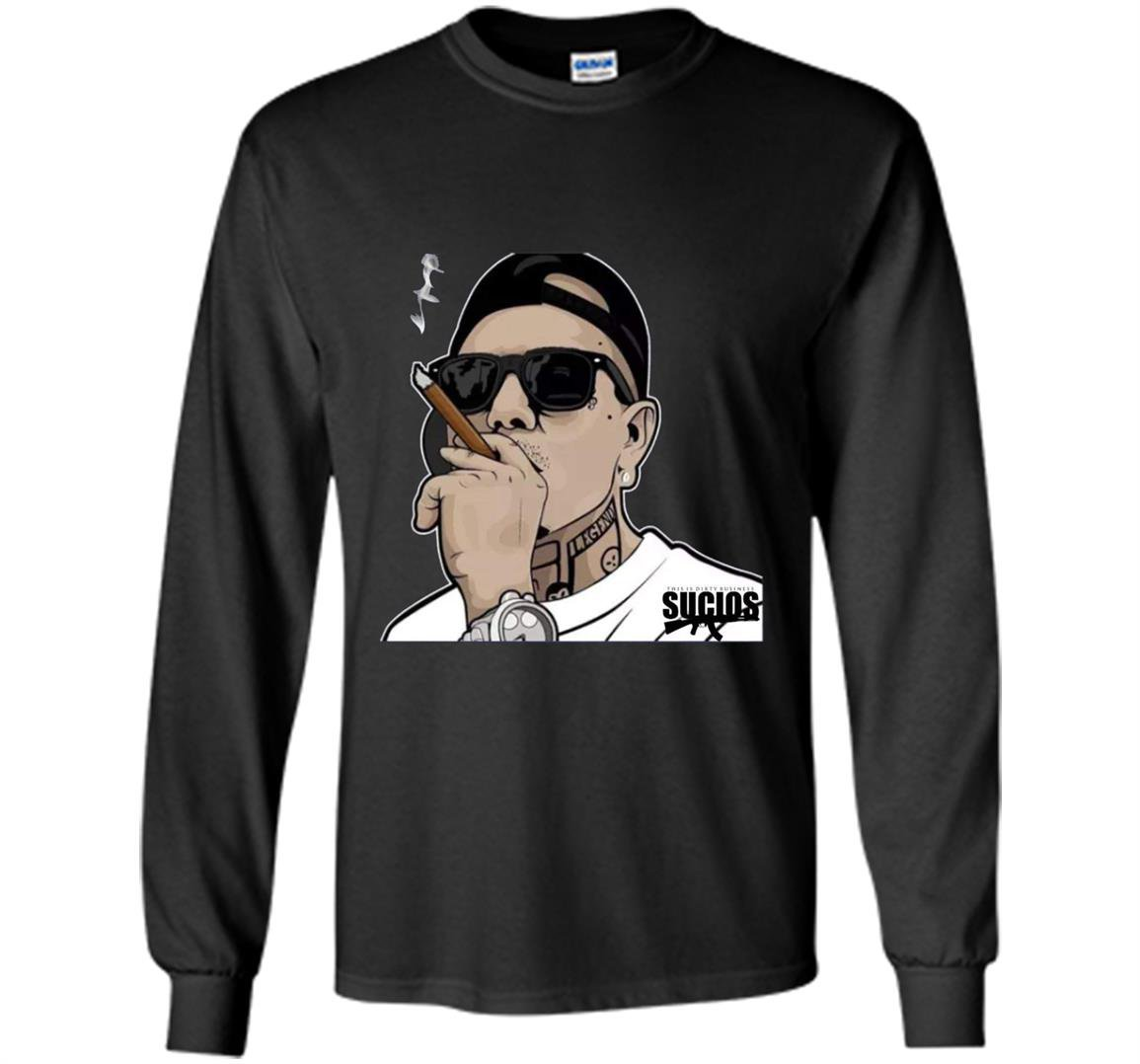 King lil g rapper mexican rap pullover Long Sleeve