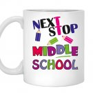 Next stop middle school graduation giftfor Mug White