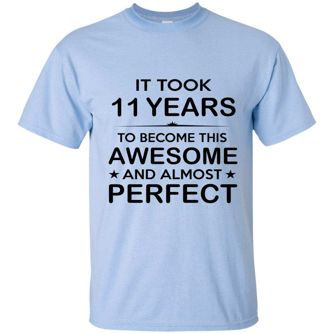 Eleven 11 year old 11th birthday gift ideas T-shirt