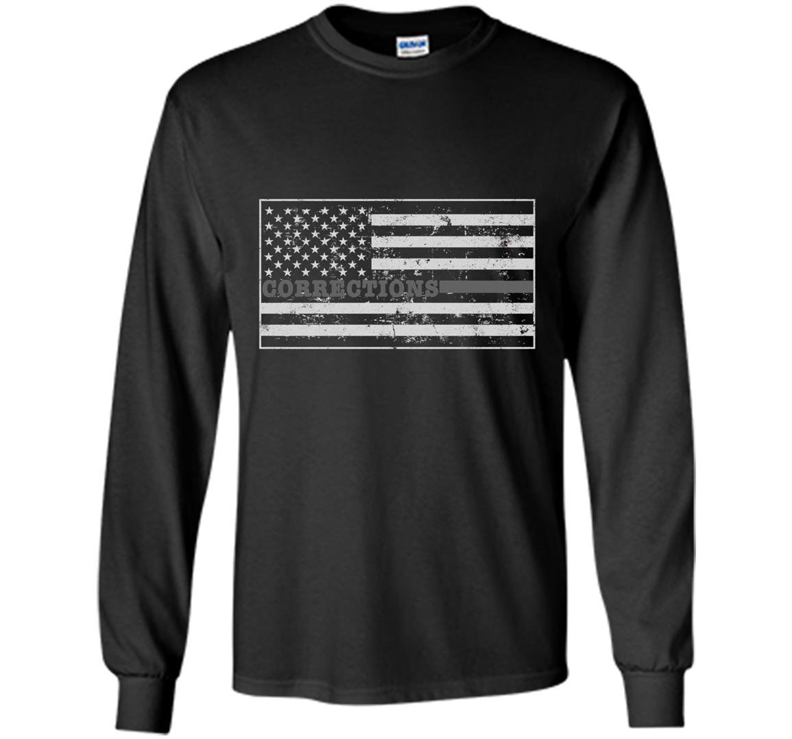 Corrections officer correctional officer flag Long Sleeve