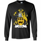 Knapp coat of arms family cres Long Sleeve