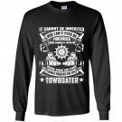 Towboa towboater forever title Long Sleeve