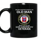 82nd airborne division veteran Mug Black