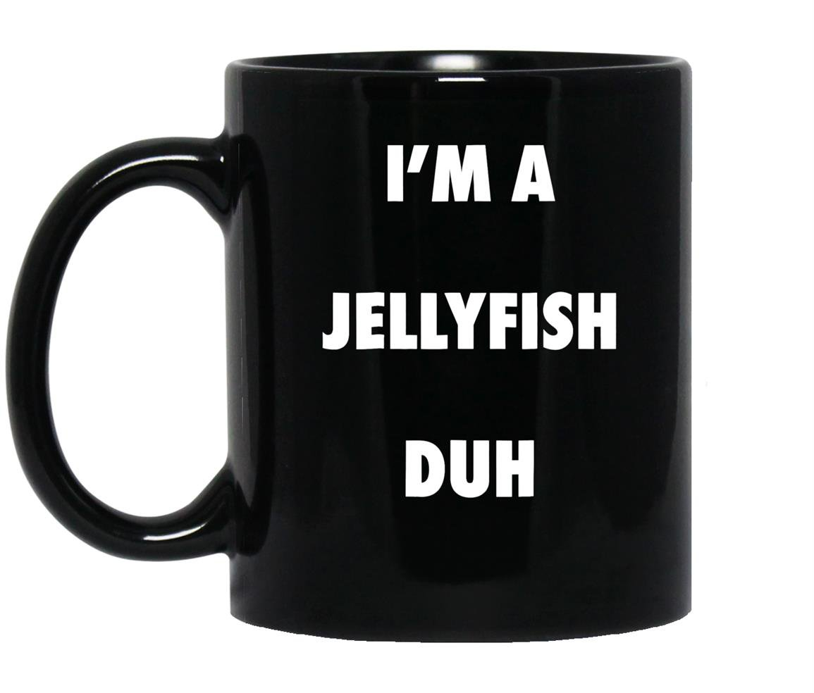 Easy halloween jellyfish costume Mug Black