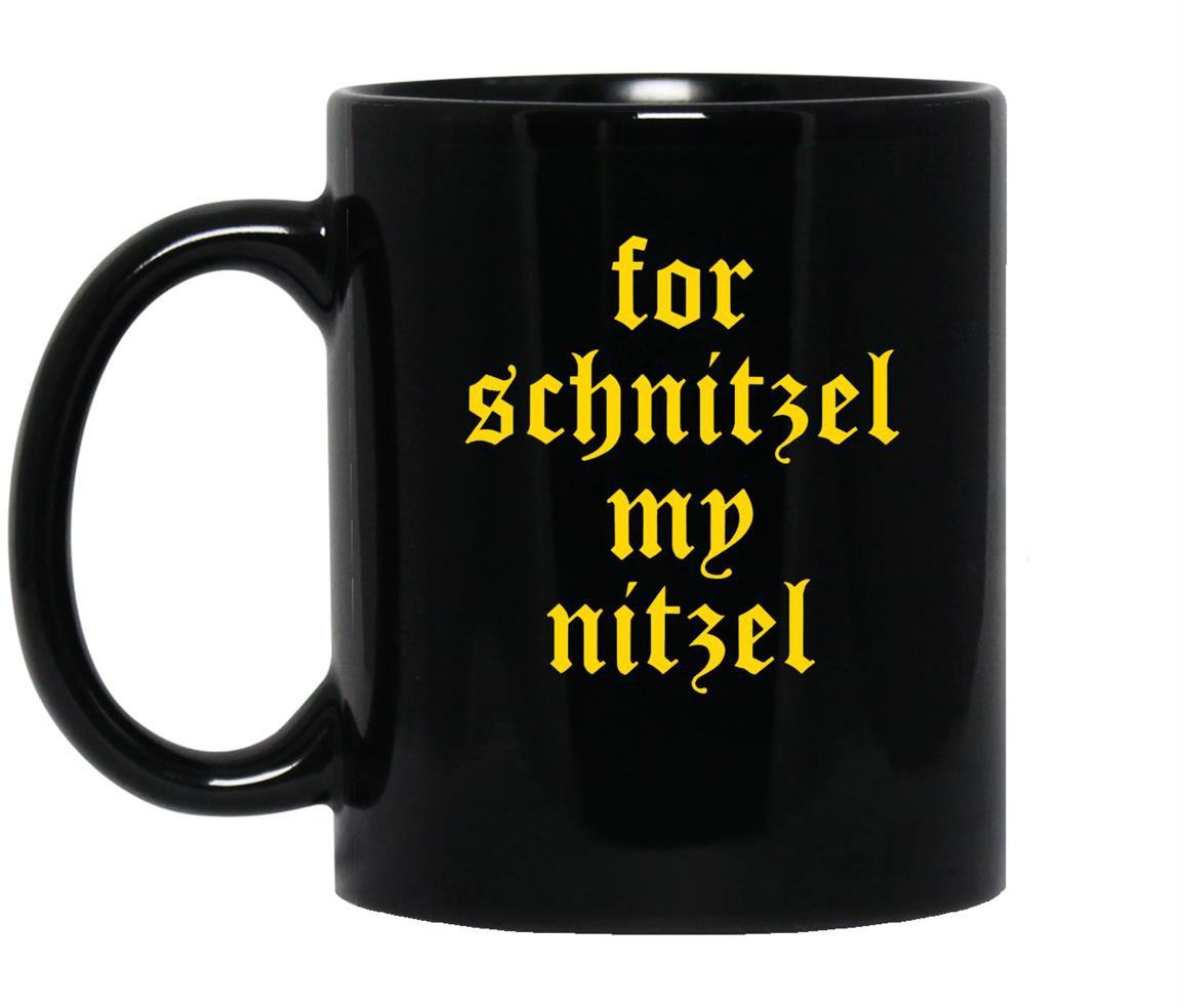 For schnitzel my nitzel funny oktoberfest Mug Black