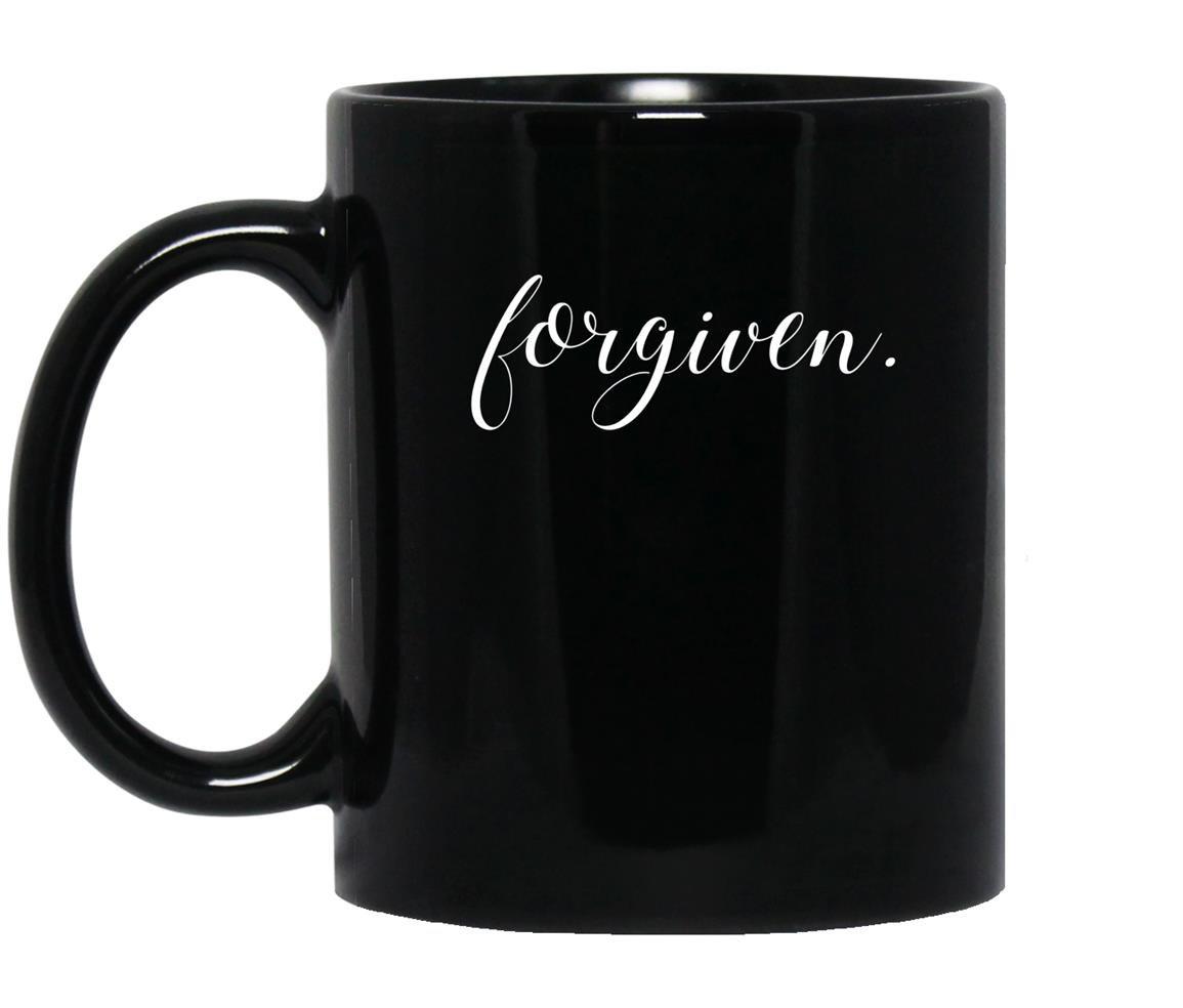 Godly christian forgive and forgiven Mug Black