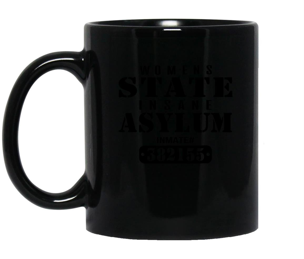 Insane asylum inmate halloween costume Mug Black