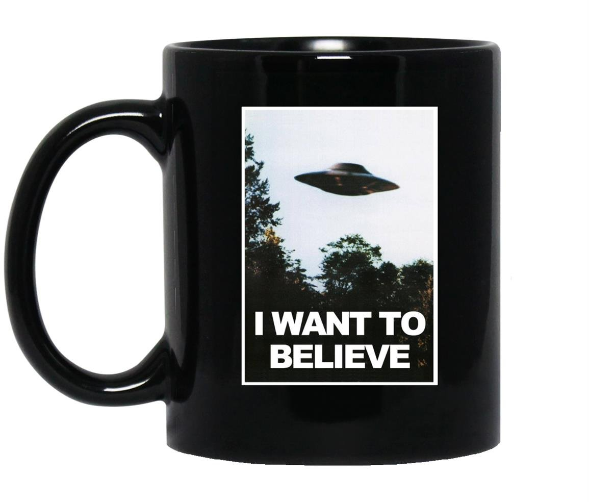 I want to believe Mug Black