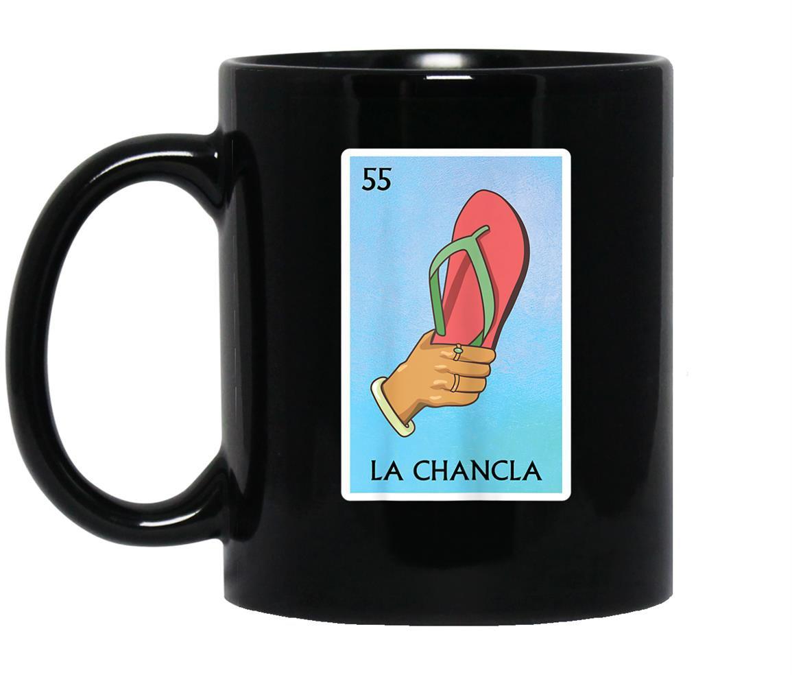 La chancla funny mexico loteria card Mug Black
