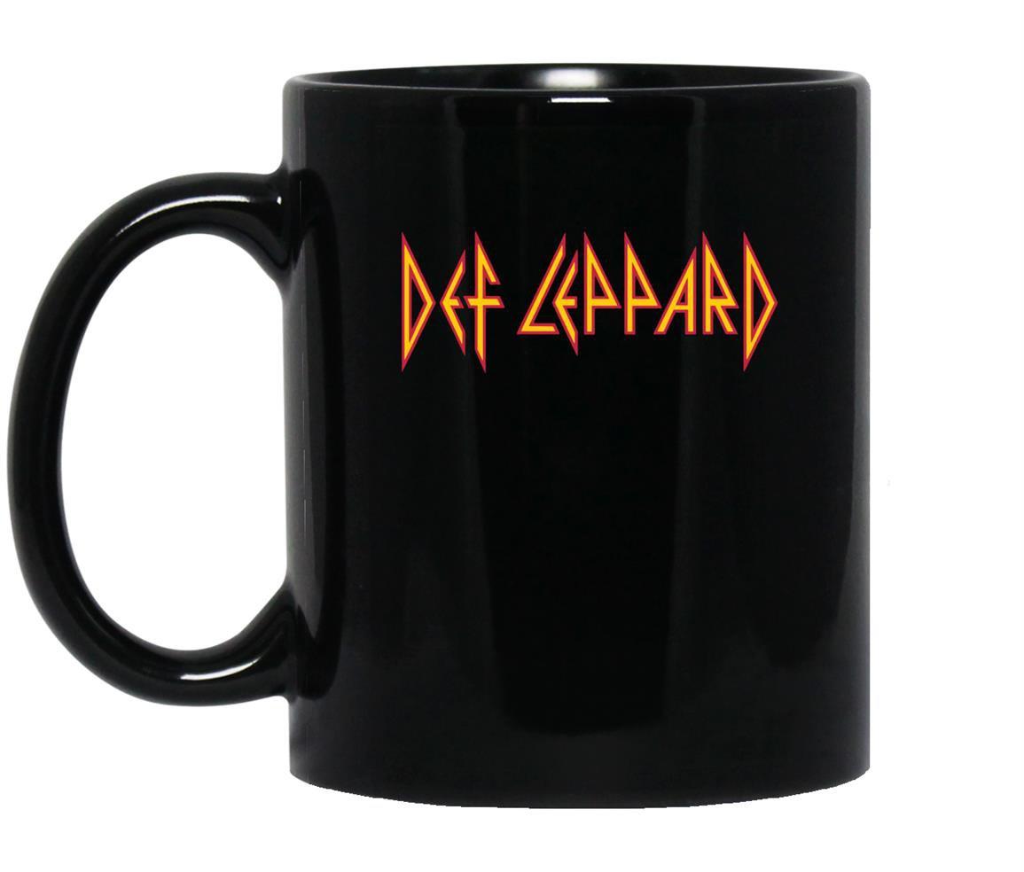 Def leppard slate Mug Black