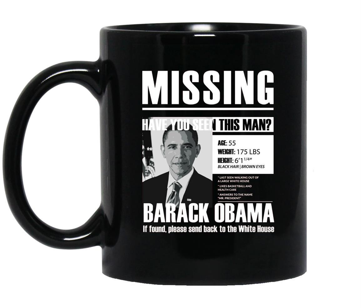 Missing have obama Mug Black
