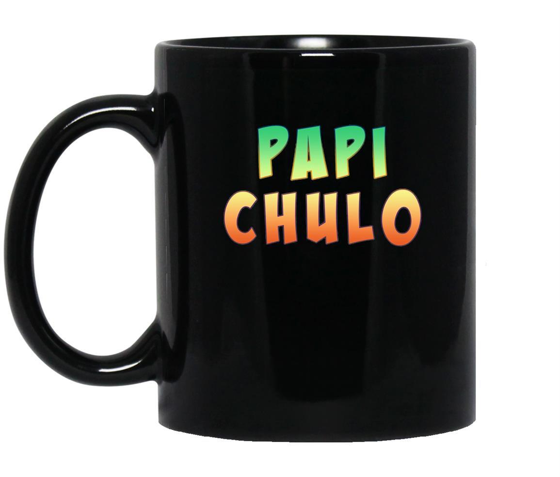 Papi chulo cool padre colorful Mug Black