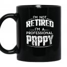 Retirement gifts for pappy fathers day Mug Black