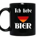 Oktoberfest ich liebe bier love Mug Black