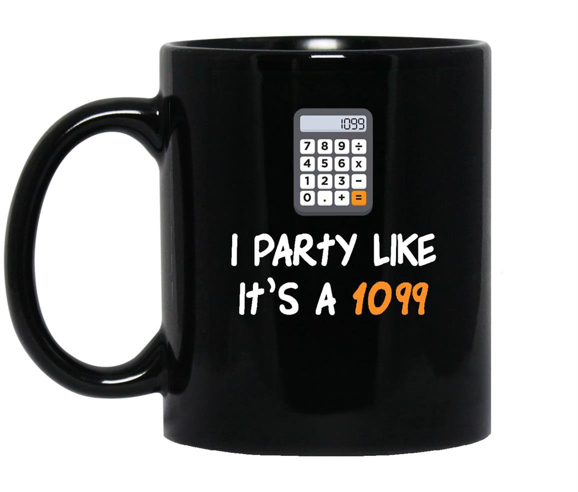 Party funny tax season Mug Black