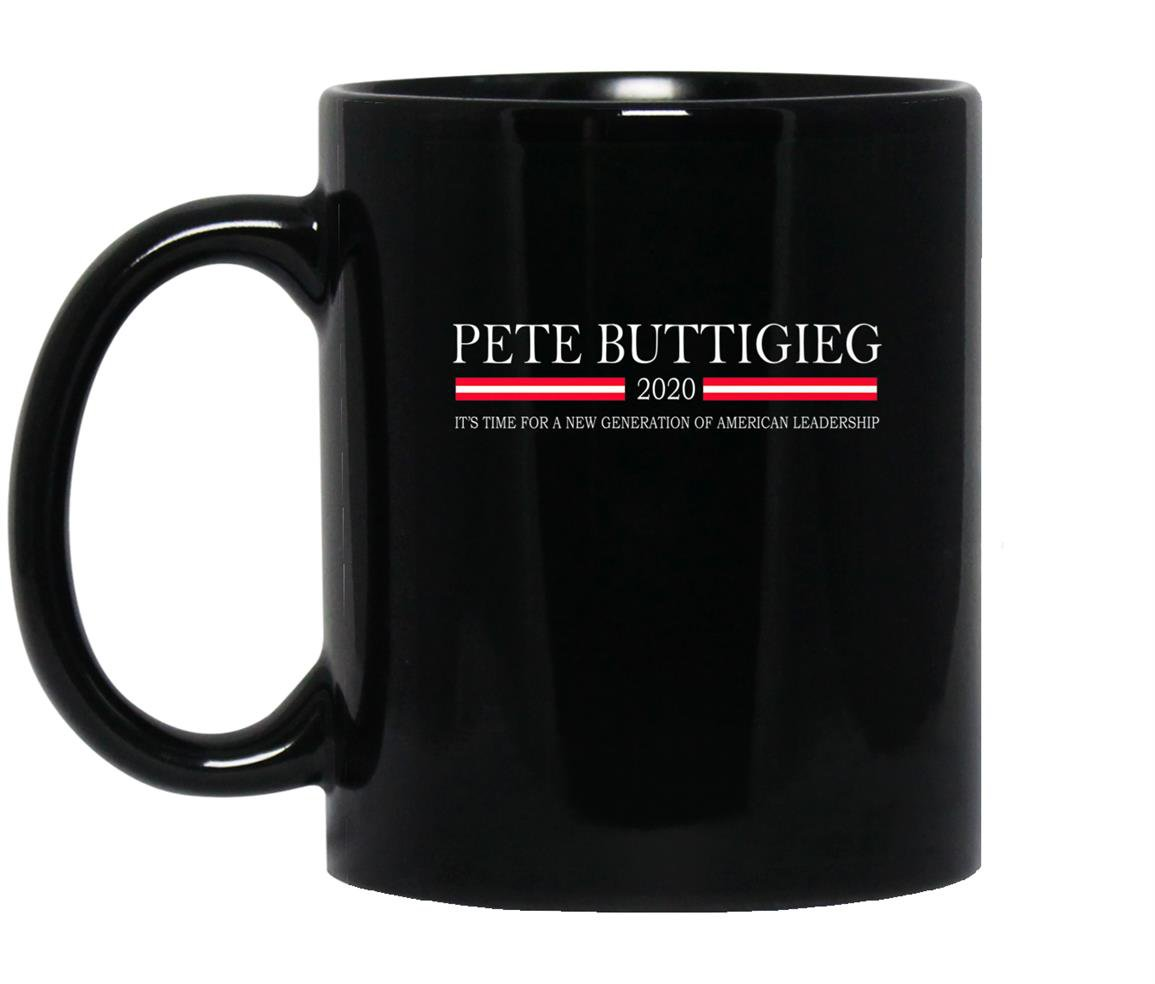 Pete buttigieg new generation american leadership prem Mug Black