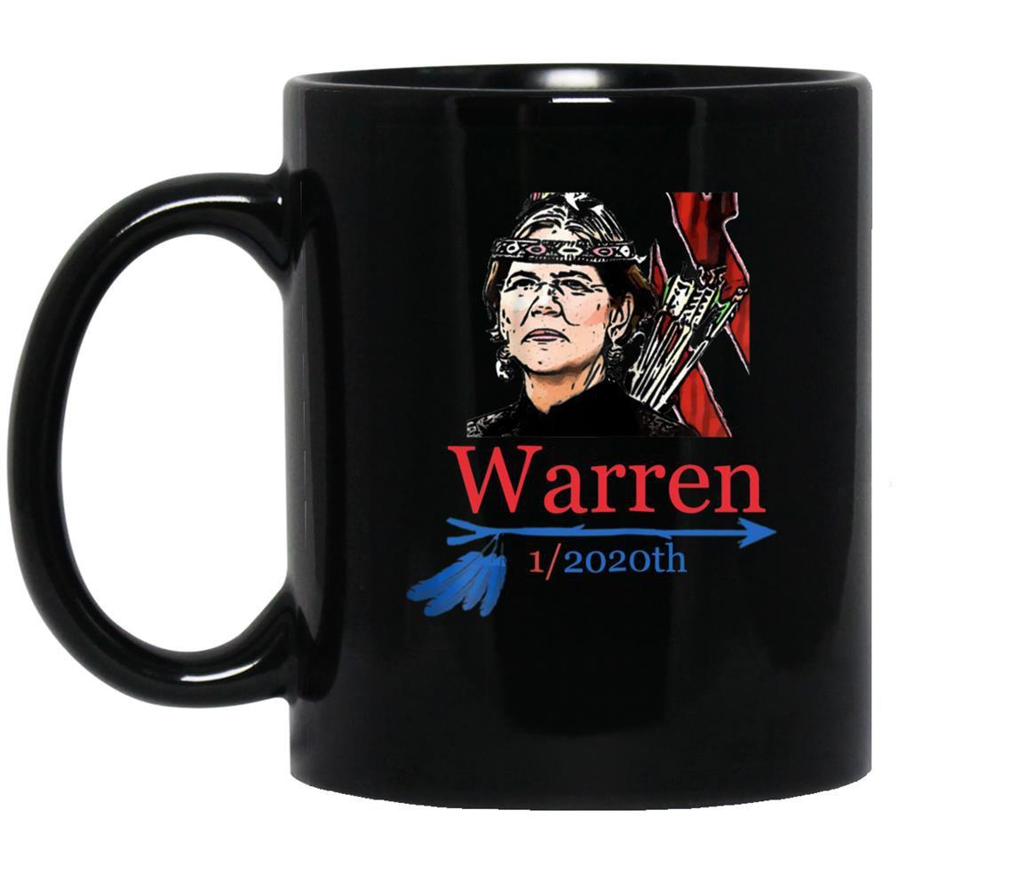 Pocahontas 2020 elizabeth warren for president funny 1 2020 Mug Black