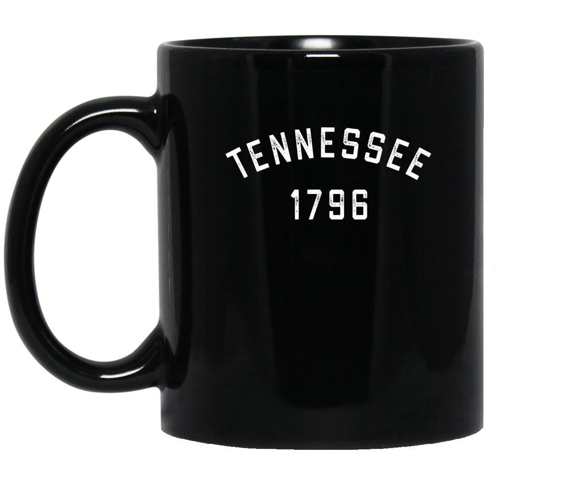 Retro tennessee vintage tennessee 1796 80s Mug Black