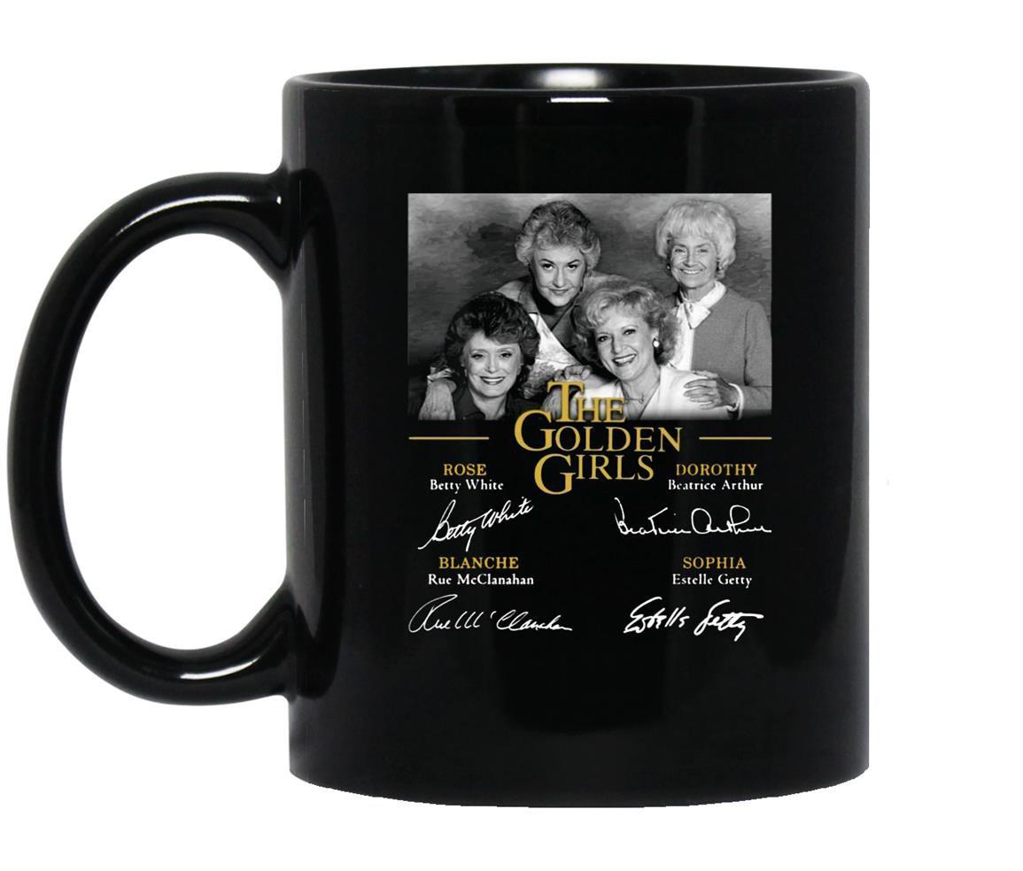 The golden signatures for fan Mug Black
