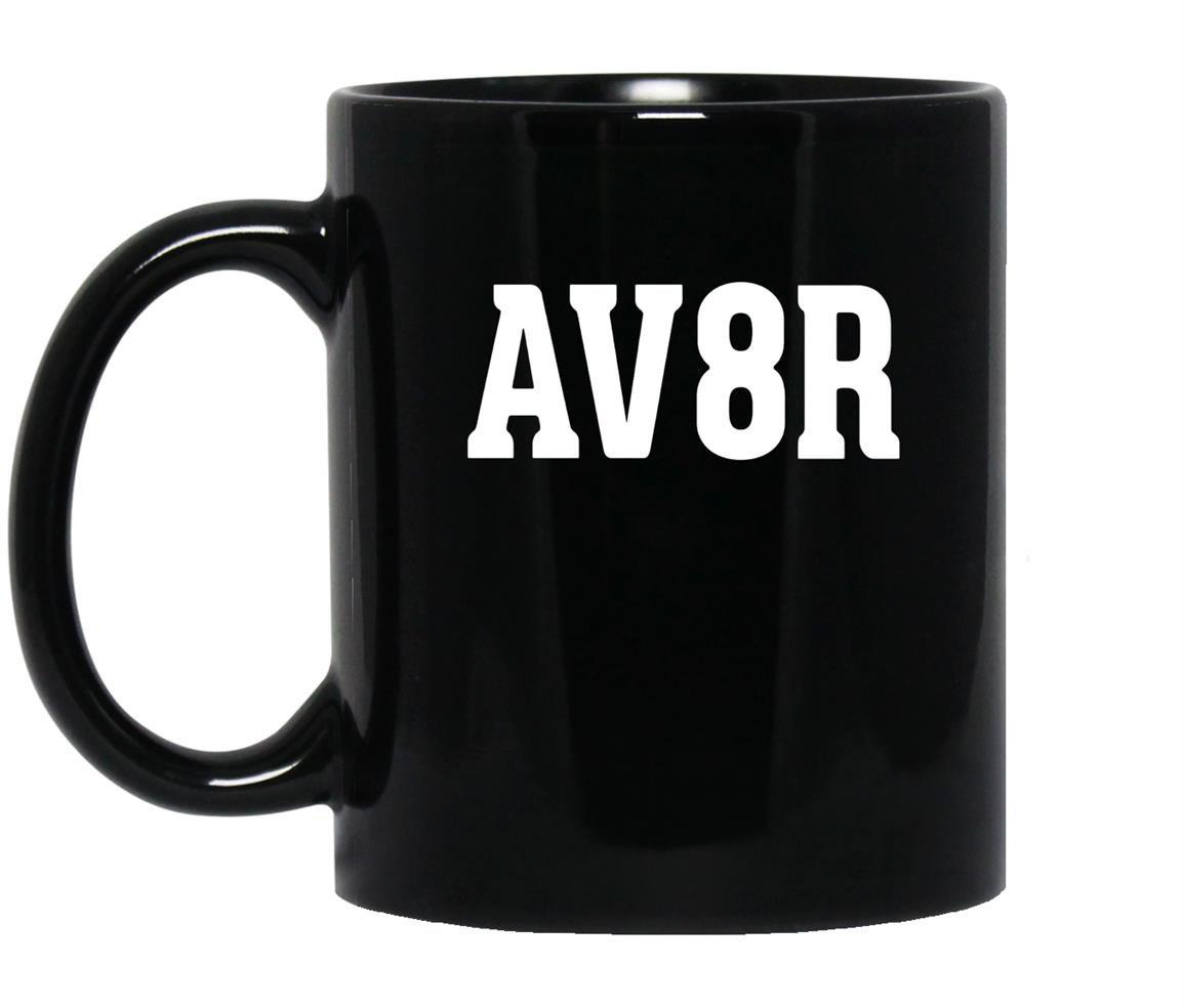 For aviation or aviators av8r Mug Black