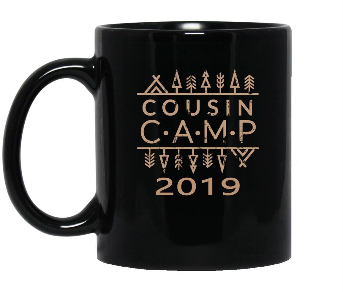 Vintage family camp cousin camp 2019 Mug Black