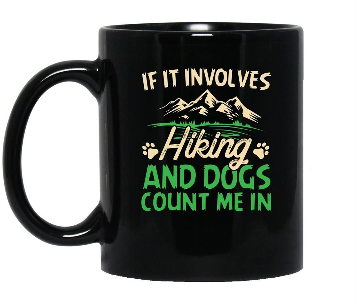 Hiking involves heather Mug Black