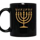 Yahshua menorah hebrew israelite yahweh yeshua torah Mug Black