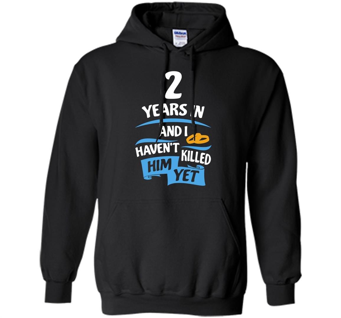 2 years anniversary gift idea for 2nd wedding Hoodie