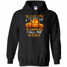 The cutest little pumpkins call me gigi halloween Hoodie