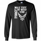 Us air force funny force gift logo usaf Long Sleeve