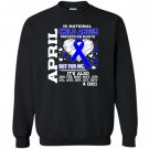 April is national child abuse prevention month Sweatshirt