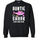 Auntie shark doo doo doo family gift Sweatshirt