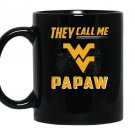 West virginia mountaineers they call me papaw Mug Black