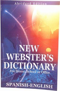 Webter's Spanish English Dictionary
