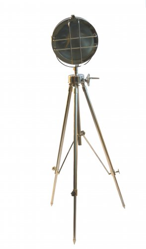 DESIGNERS  SEARCH LIGHT WITH STEEL TRIPOD STAND