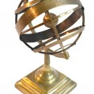 Brass Tabletop Armillary Nautical Sphere Globe Table Decor Armillary