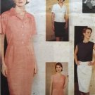 Vogue Sewing Pattern 1600 Misses Dress Top Skirt Size 8-12 Uncut Attitudes