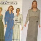 Simplicity Sewing Pattern 8802 Ladies / Misses Dress & Jacket Size 6-12 Uncut