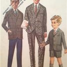 Mccalls Sewing Pattern 6546 Boys Childs Jacket Pants Size 4 Uncut Vintage