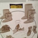 Butterick Crafts Sewing Pattern 5233 Historical Footwear Uncut New