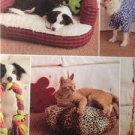 Butterick Sewing Pattern 4048 Pet Dog Cat Accessories Uncut Toy Bed Coat