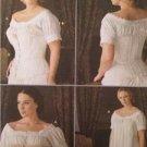 Simplicity Sewing Pattern 7215 Misses Civil War Chemise Corset Size 6-12 Uncut