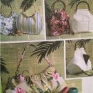Butterick Sewing Pattern 4148 0174 Handbags Cosmetic Bag Three Sizes Uncut