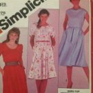 Simplicity Sewing Pattern 5374 Pullover Dress Size 12